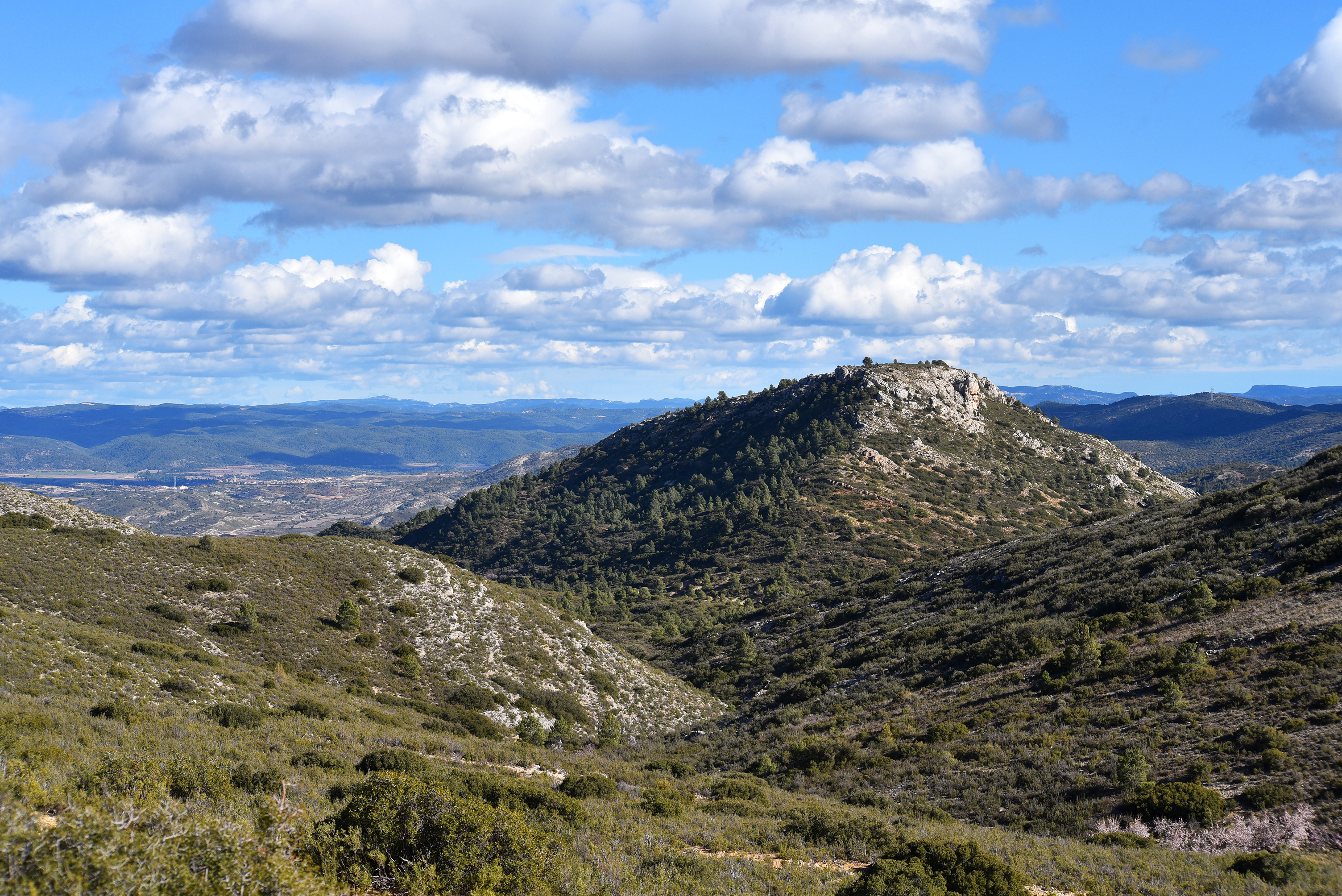 Spanish Mountain Terrain