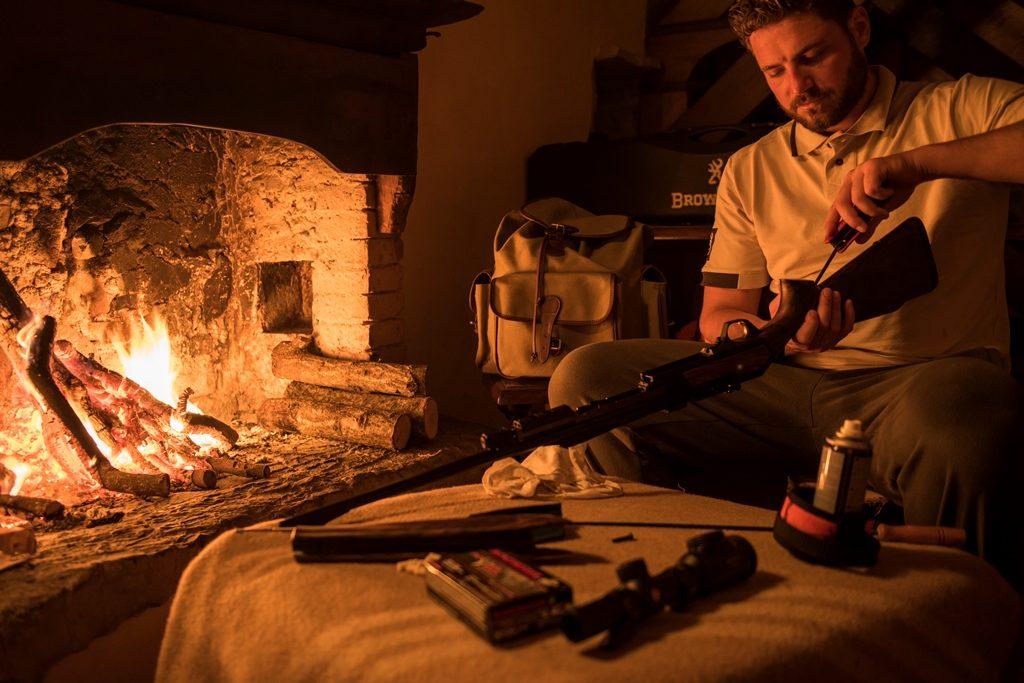 Browning blog Alberto Rizzini hunt wild boar Tuscany