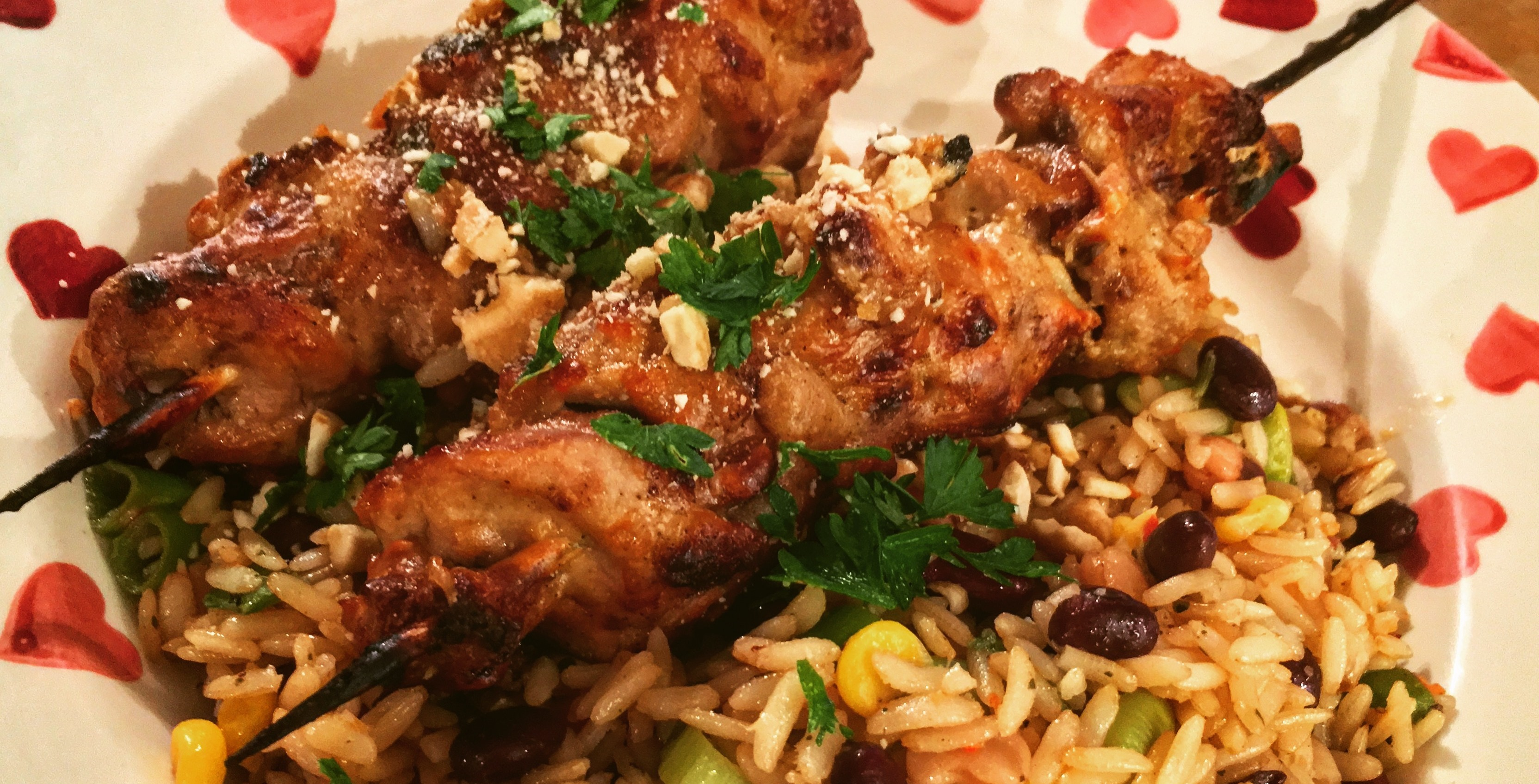Browning blog - Recipe: Pheasant satay skewers
