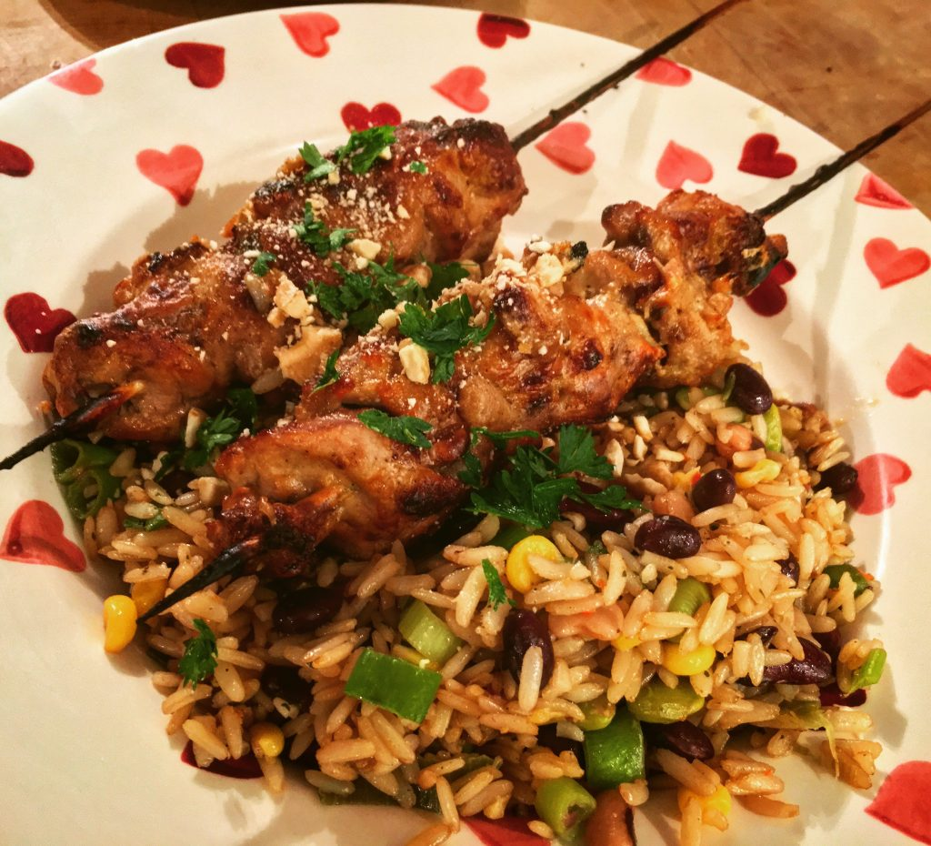 Browning Blog - Recipe: Pheasant satay skewers