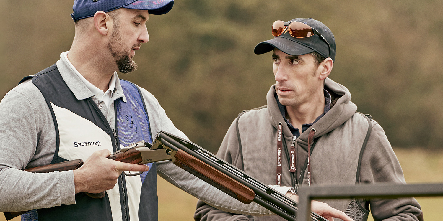 Browning blog: 25/25 in clay shooting, a step-by-step strategy - 1. Specialties and equipment